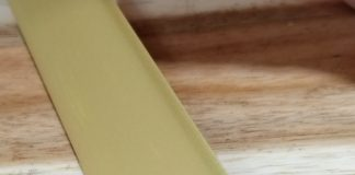 Nẹp nhôm chữ T30 màu vàng mờ