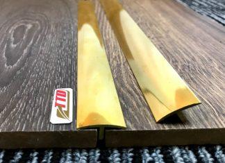 Hướng Dẫn Lắp Đặt Nẹp Đồng T20 Bằng Keo Xbond